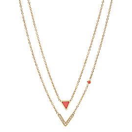 Damen Halskette - Geometric