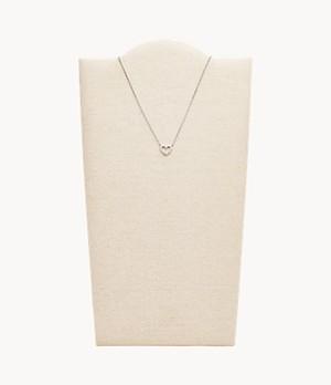 Damen Halskette Open Heart Necklace