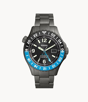 Limited Edition FB-GMT Dual Time Titanium Watch
