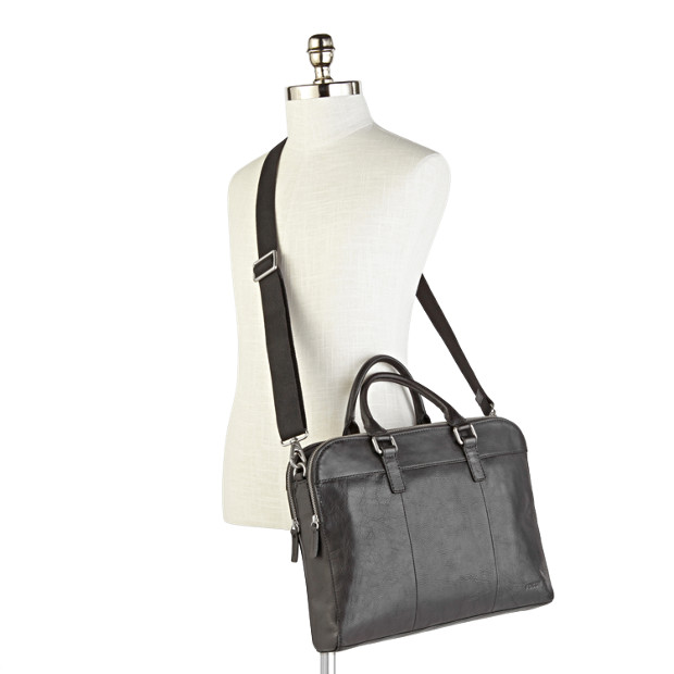 Mercer Double Zip Workbag Fossil - Porte document fossil