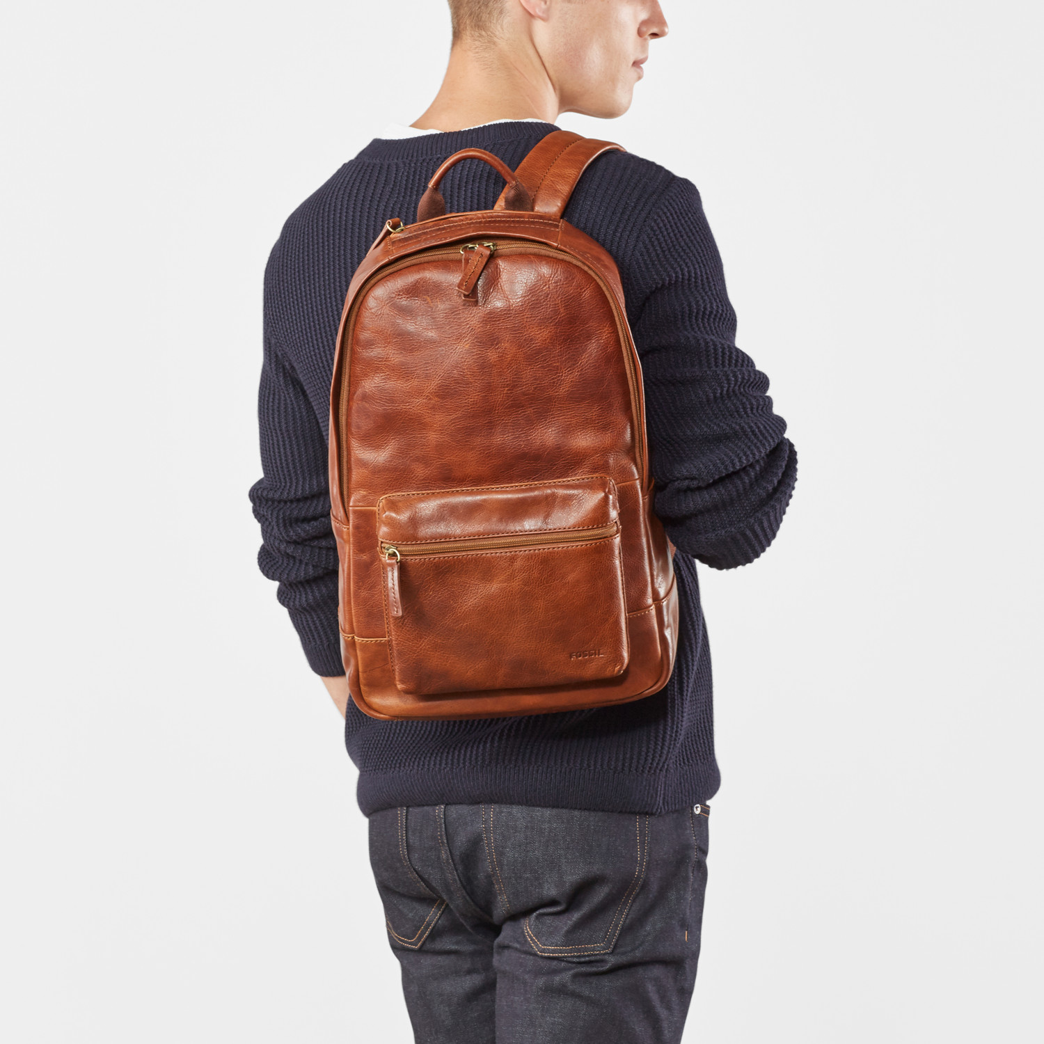1f0f2033c2 Estate Casual Leather Backpack - Fossil