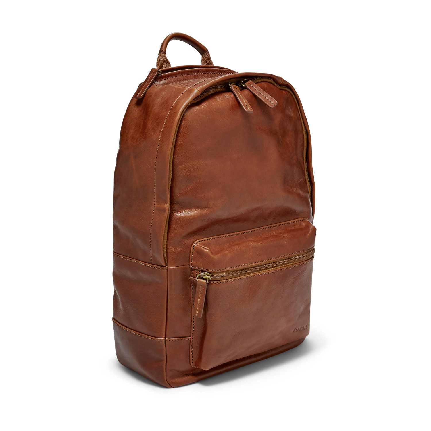 e503cb2e9e79c Estate Casual Leather Backpack - Fossil