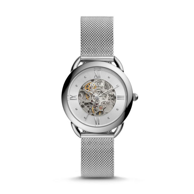ec8d0bf8e20 Tailor Mechanical Stainless Steel Watch - Fossil