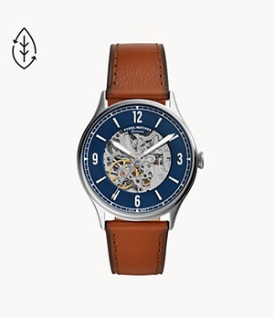 Forrester Automatic Luggage Leather Watch