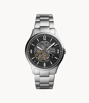 Forrester Automatic Stainless Steel Watch