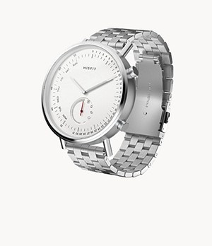 REFURBISHED Misfit Command 44mm Stainless Steel with Stainless Steel Bracelet