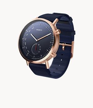 REFURBISHED Misfit Command 44mm Rose Tone with Midnight Sport Strap