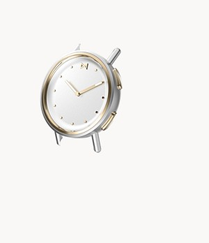 Misfit Path 36mm Watch Case Gold Tone / Stainless Steel