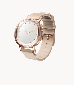 REFURBISHED Misfit Path 36mm Rose Tone with Rose Beige Sport Strap