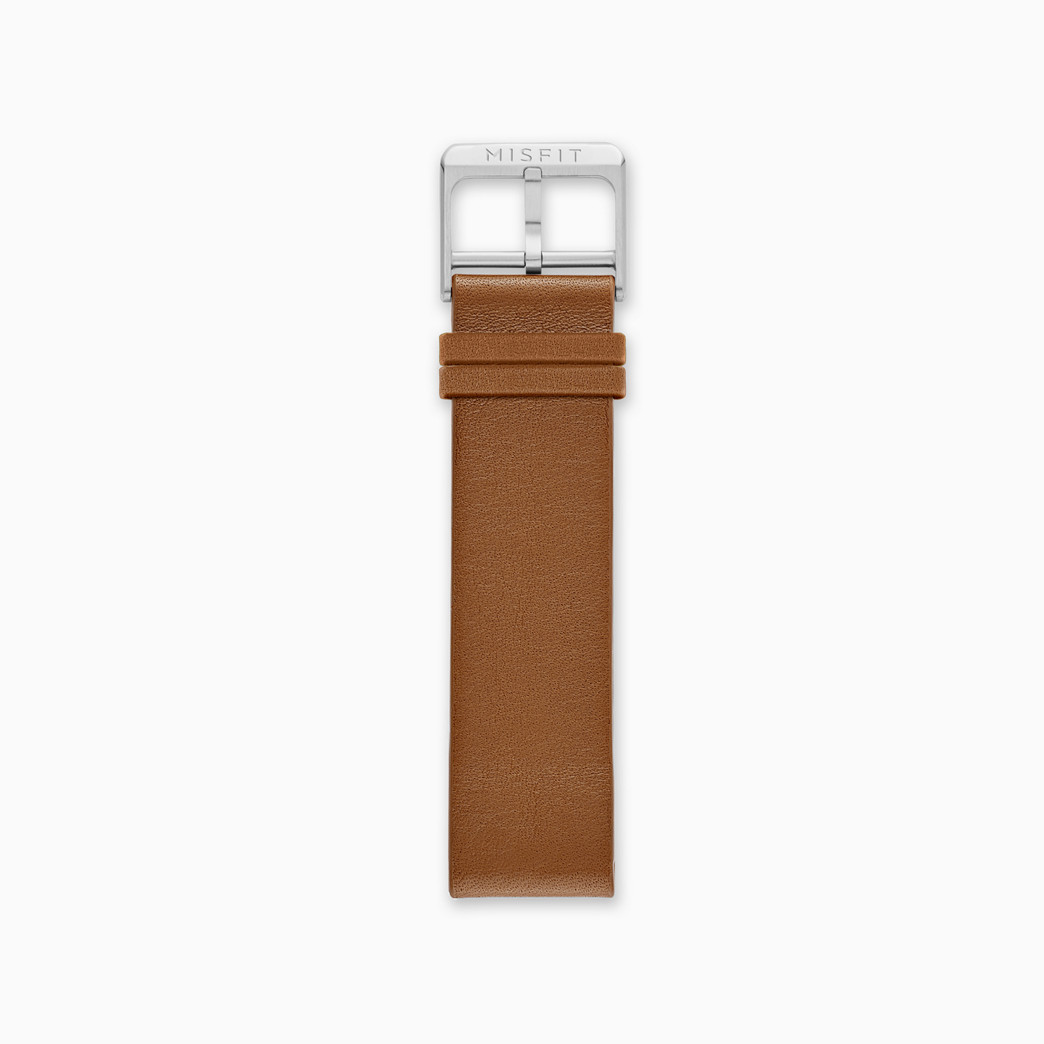 20mm Misfit Smartwatch Leather Strap