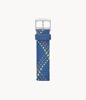 20mm Misfit Smartwatch Indigo Multi-Color Nylon Strap
