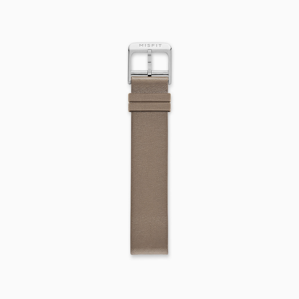 16mm Misfit Smartwatch Leather Strap