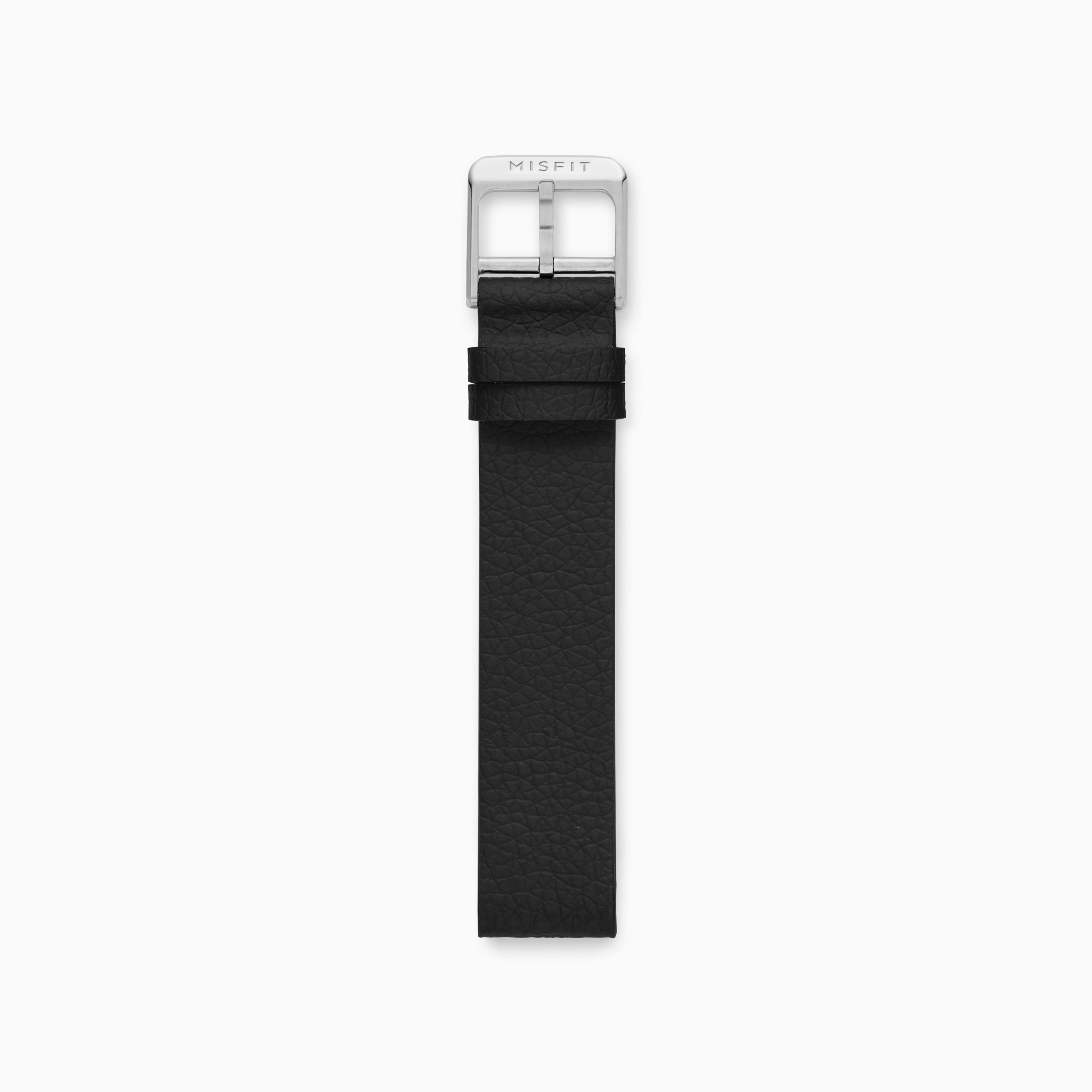 16mm Misfit Smartwatch Silicone Leather Strap