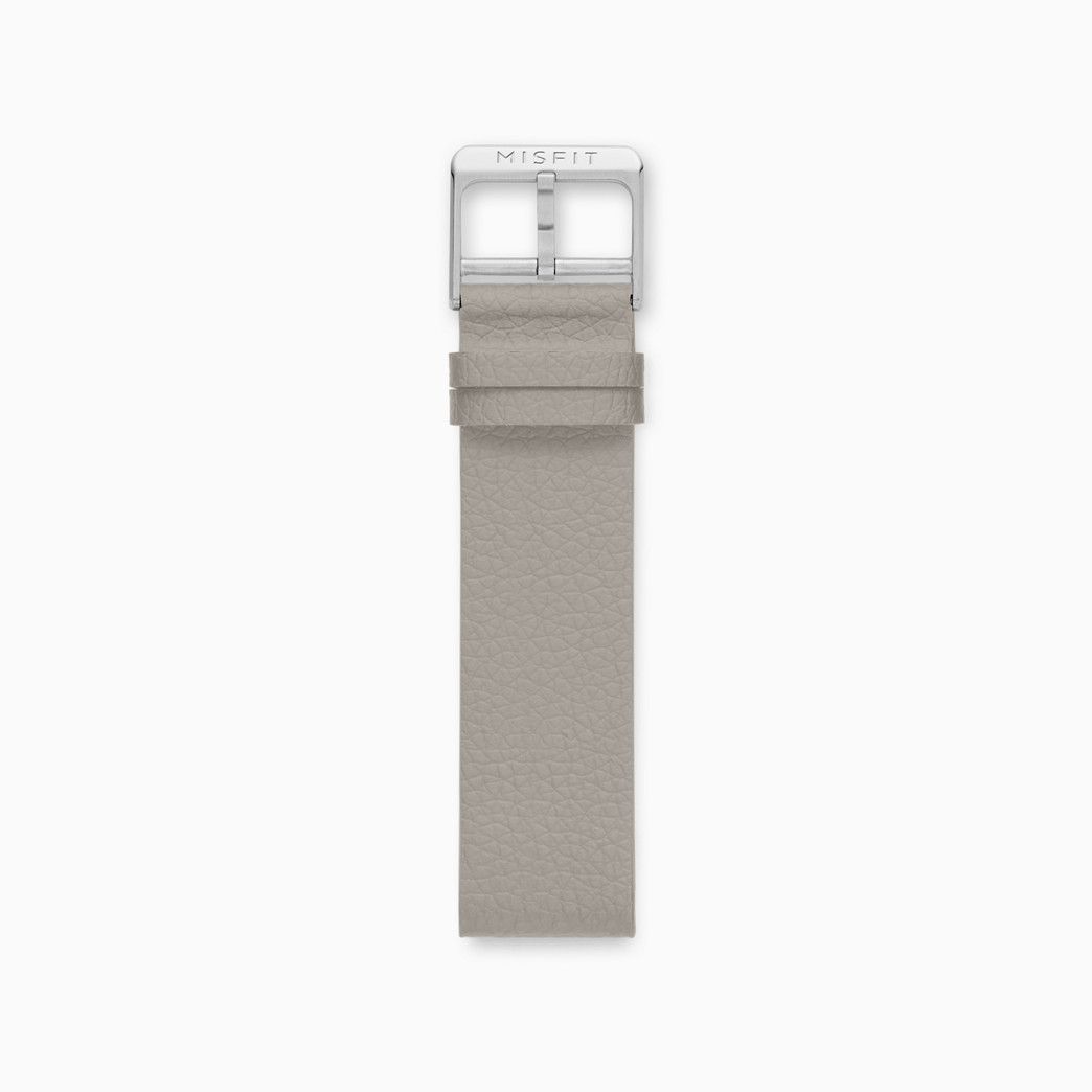 20mm Misfit Smartwatch Silicone Leather Strap