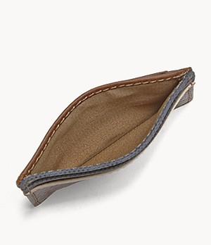Herren Geldbörse - Elgin ID Card Case Front Pocket Wallet