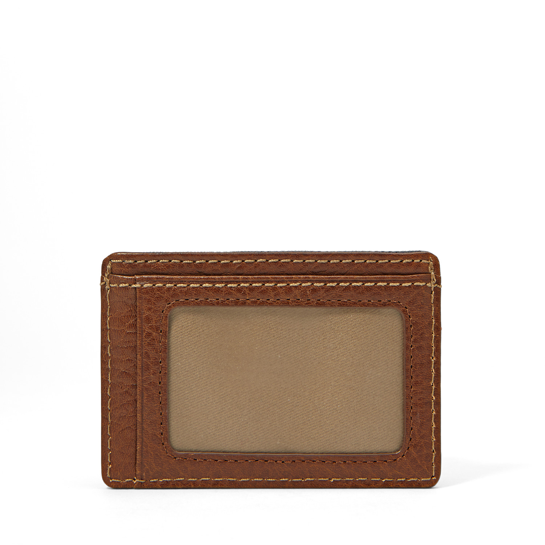 Elgin ID Card Case Front Pocket Wallet - Fossil