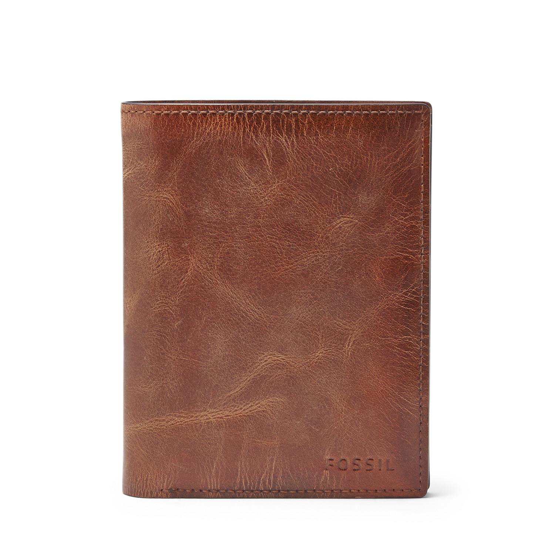 185c8eee68e70 Herren Geldbörse - Derrick RFID International Combination - Fossil