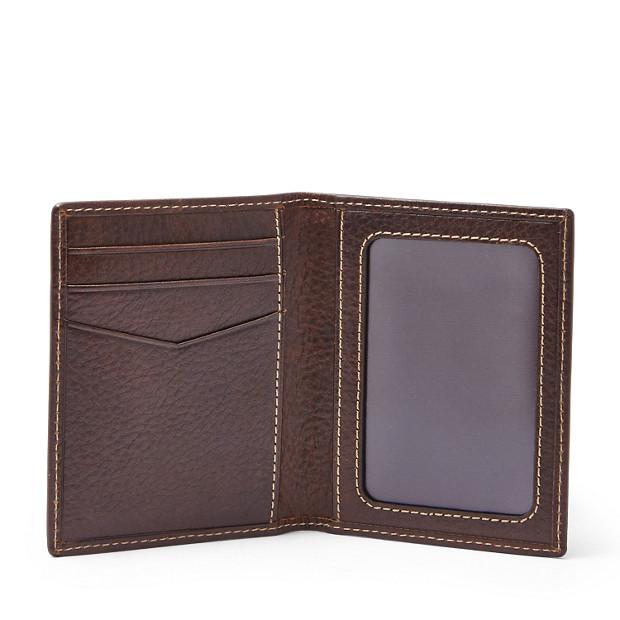 d5149fcf0e8c Lincoln Card Case Bifold - Fossil