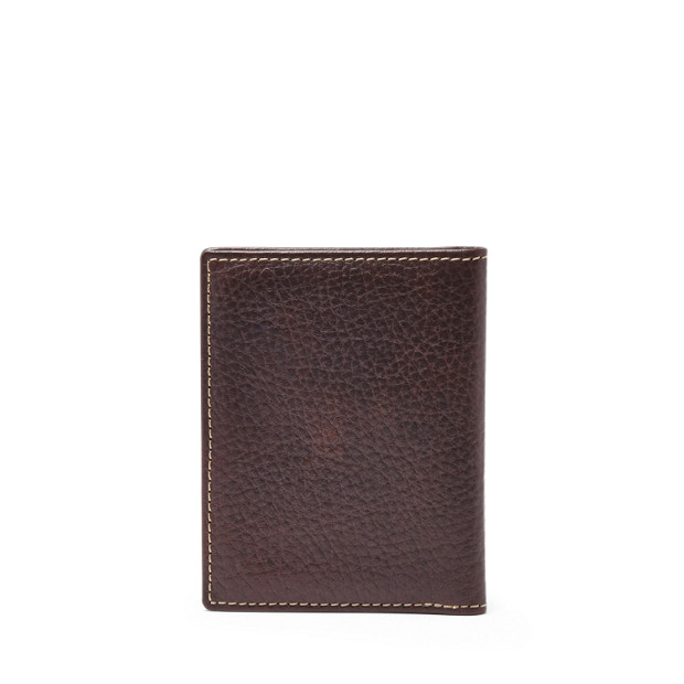 38181a54d6e4c0 Lincoln Card Case Bifold - Fossil