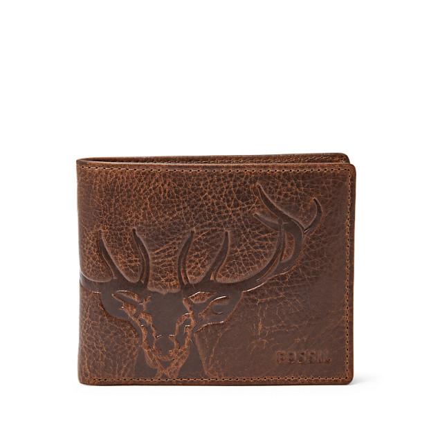 894ade73df34f Herren Geldbörse - Jack Large Coin Pocket Bifold - Fossil