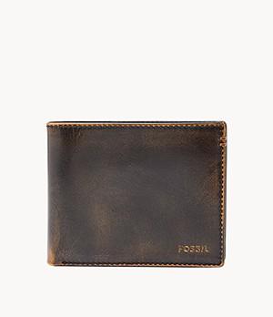 Herren Geldbörse - Wade Large Coin Pocket Bifold