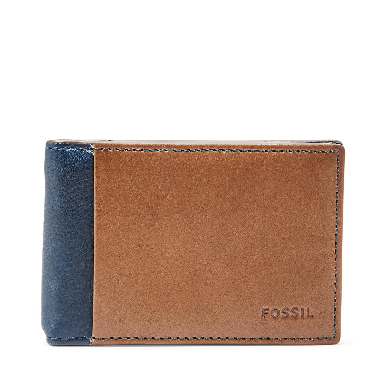 331b77b659c1d1 Ward RFID Money Clip Bifold - Fossil