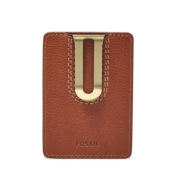a5e3e48838b1 Julian Money Clip Card Case - Fossil