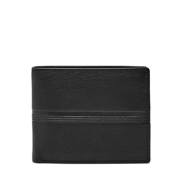 42730124e29919 Herren Geldbörse Roger - Large Coin Pocket Bifold - Fossil