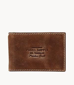 Herren Geldbörse Russell - RFID Money Clip Bifold