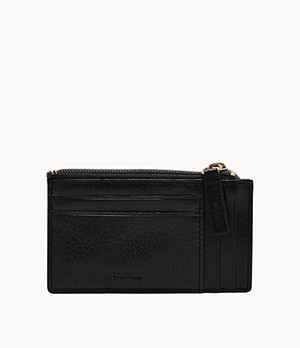 Caine Side Zip Card Case
