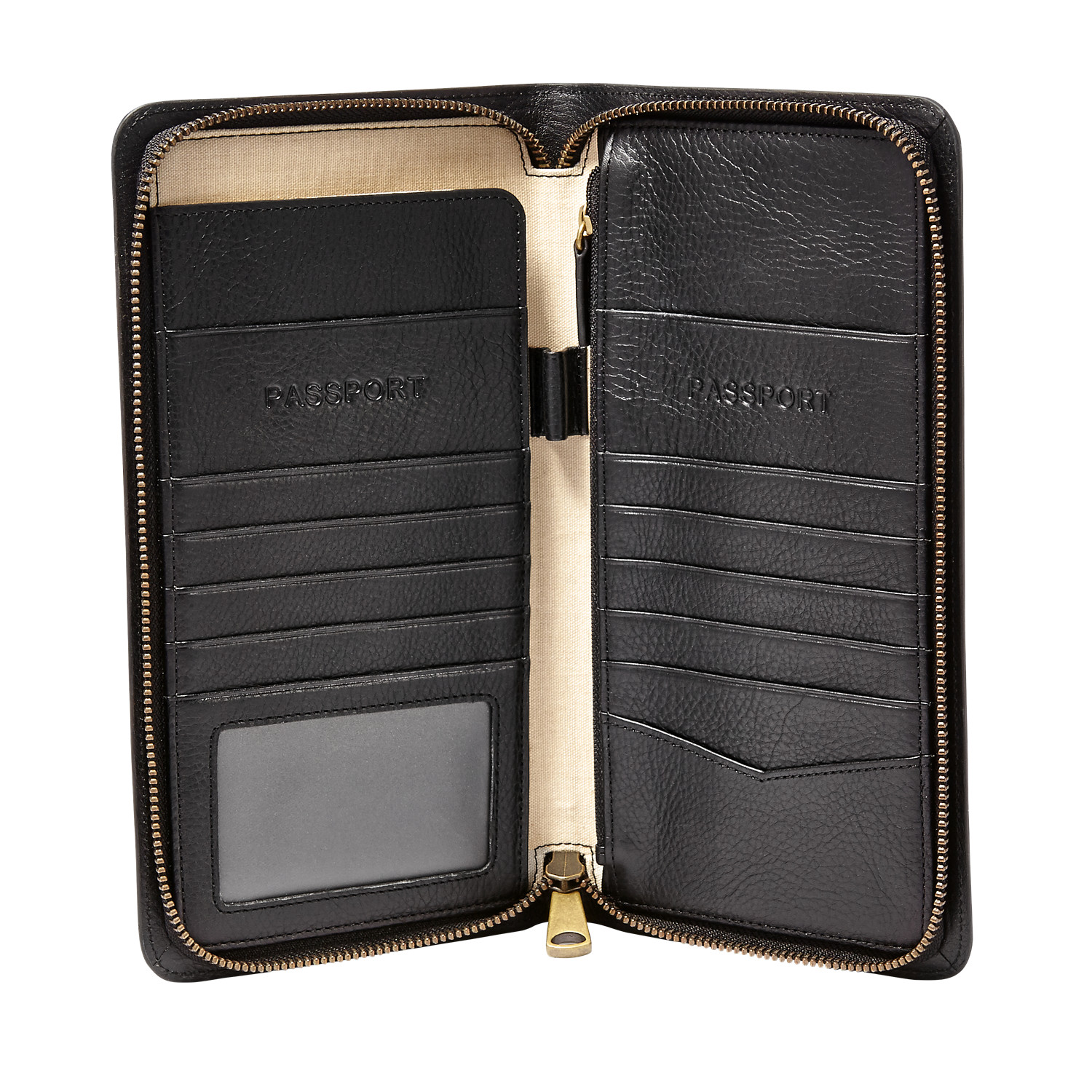 ff6a294efeb5 Multi-Zip Passport Case - Fossil