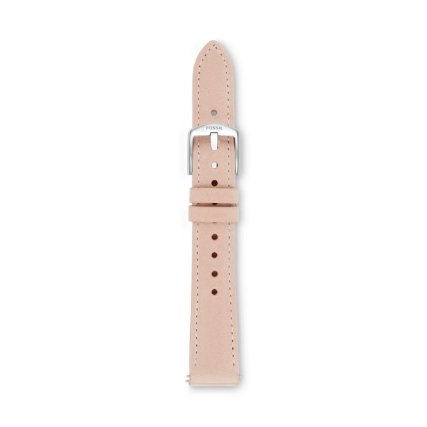 b3ea73755 16mm Nude Leather Watch Strap - Fossil