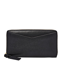 Caroline RFID Zip Around Wallet