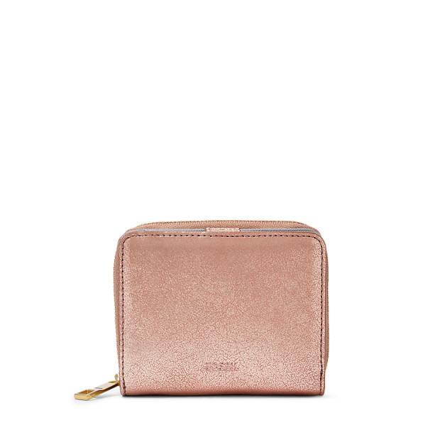 magasin d'usine 59759 ebc79 Mini porte-monnaie rabat MM Emma RFID - Fossil