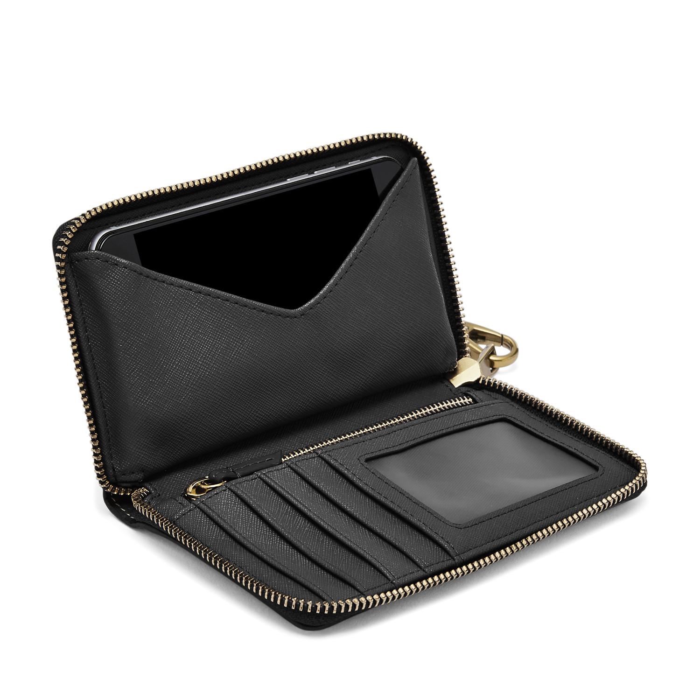 dd87851d083a5 Damen Geldbörse Emma - RFID Smartphone Wristlet - Fossil