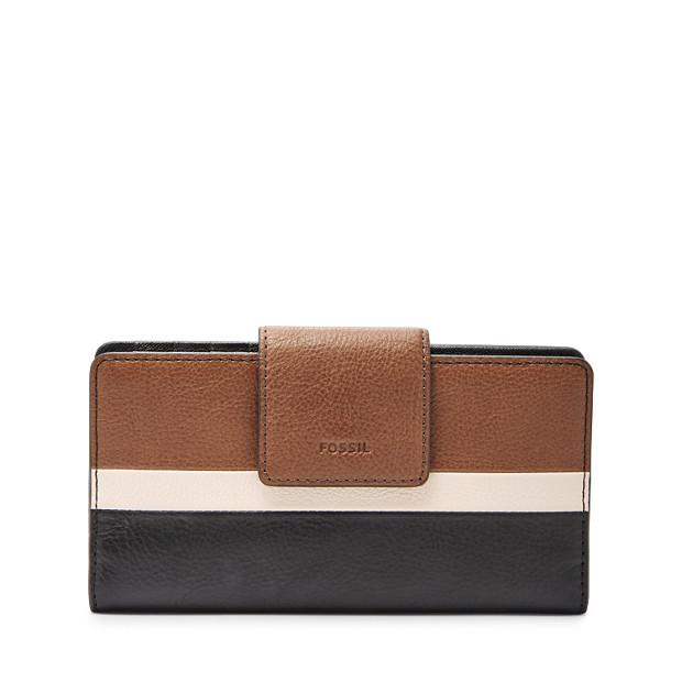 05209b7c2020 Emma RFID Tab Clutch - Fossil
