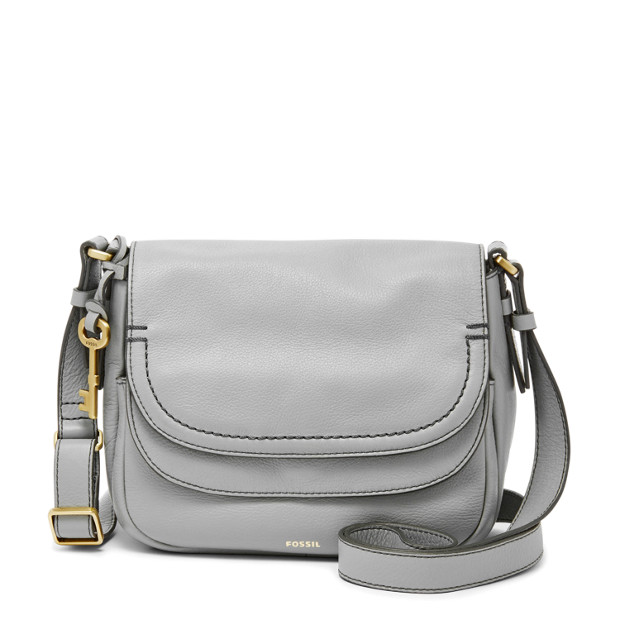 7f140d0a70a Peyton Small Double Flap Crossbody - Fossil