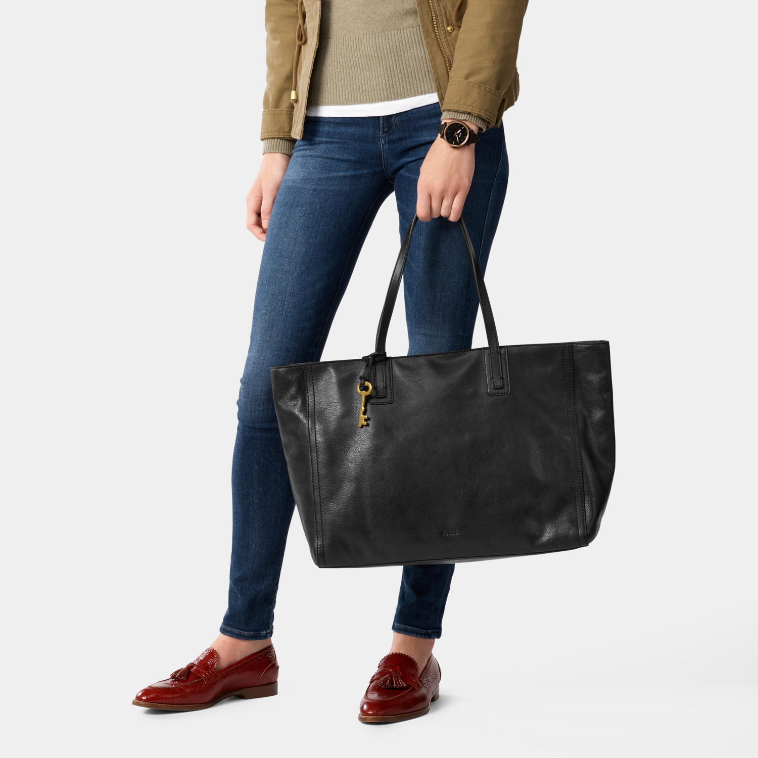 Emma Work Tote - Fossil