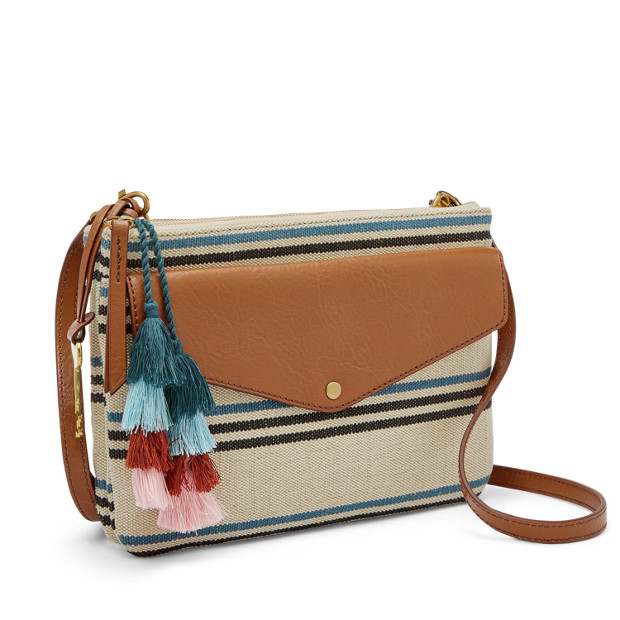 Devon Crossbody - Fossil