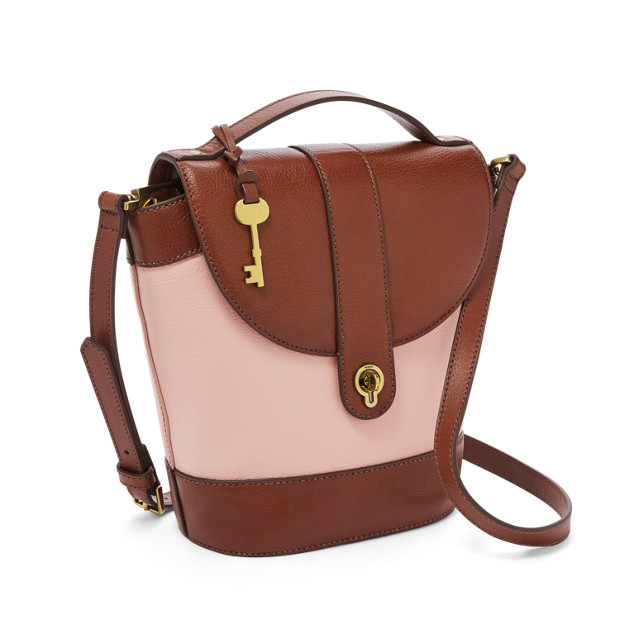Clara Bucket Bag Fossil