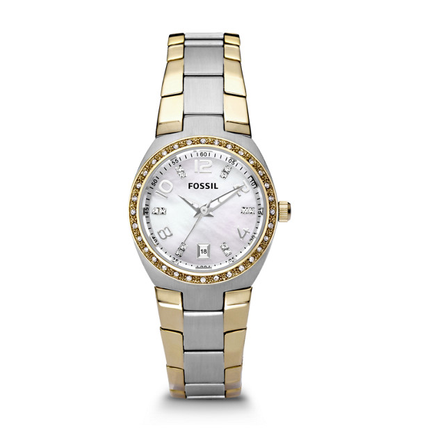 Colleague Two-Tone Stainless Steel Watch