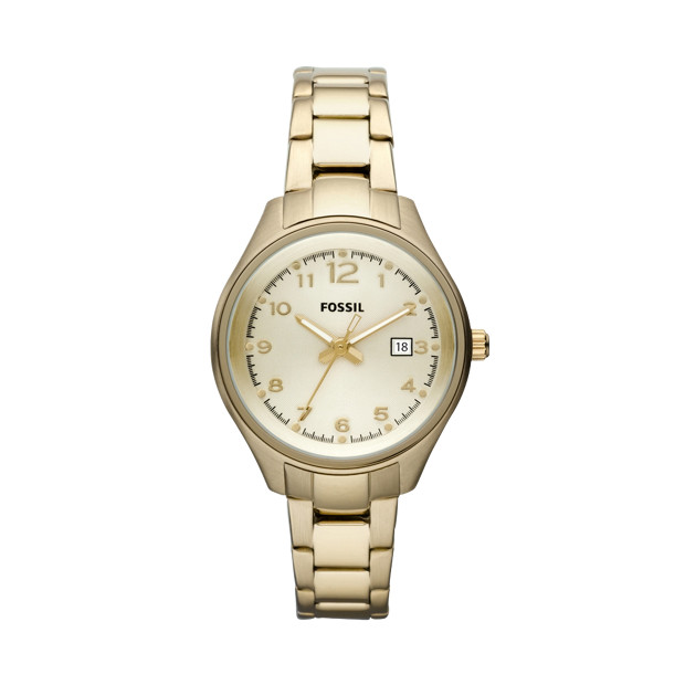 Flight Mini Plated Stainless Steel Watch – Gold-Tone