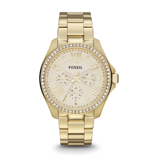 Cecile Multifunction Stainless Steel Watch - Gold-Tone