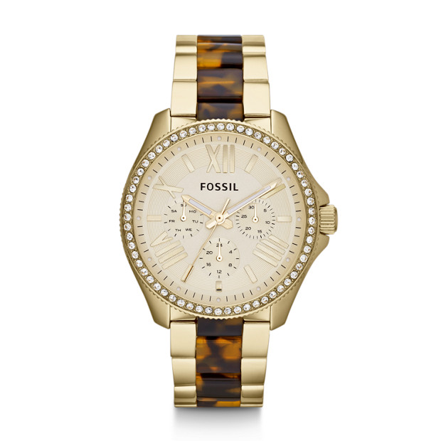 Cecile Multifunction Stainless Steel Watch - Two-Tone