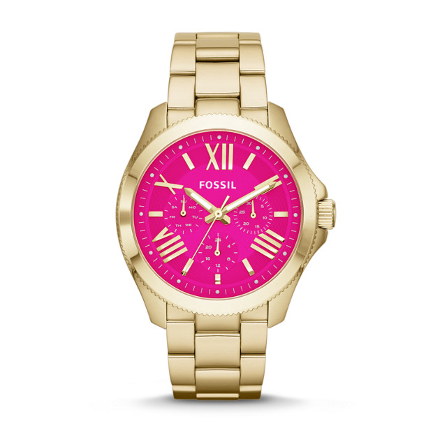 Cecile Multifunction Gold-Tone Stainless Steel Watch