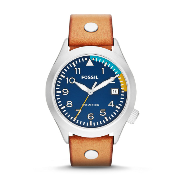 Aeroflite Tan Leather Watch