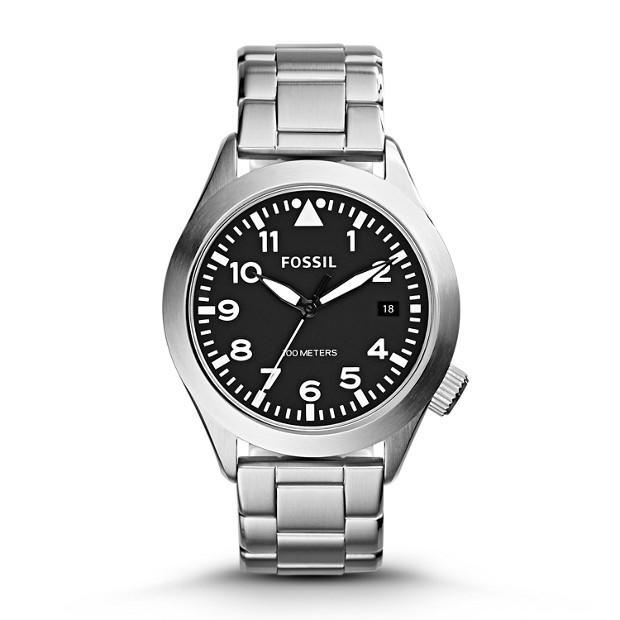 Aeroflite Stainless Steel Watch
