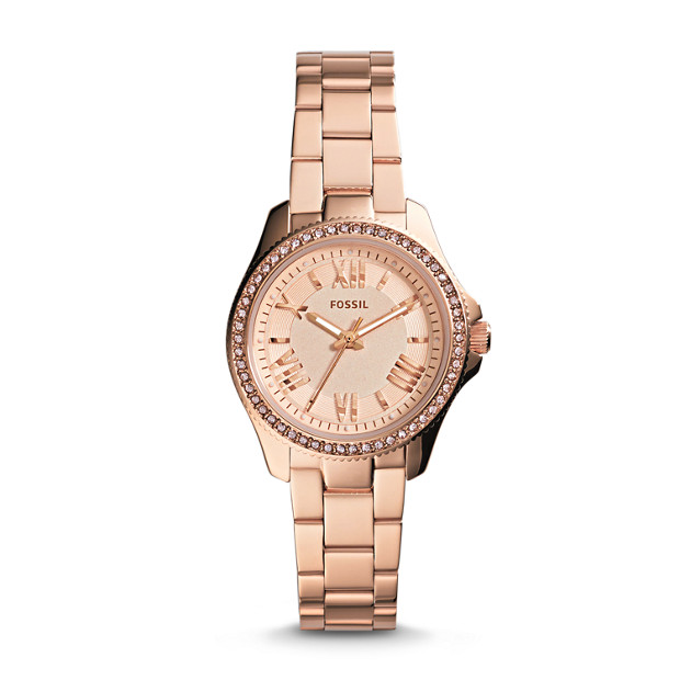Cecile Small Rose-Tone Stainless Steel Watch