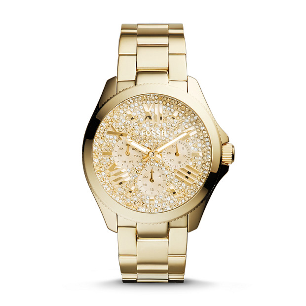 Cecile Multifunction Stainless Steel Watch – Gold-Tone