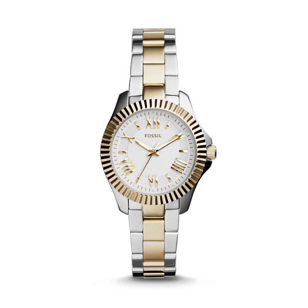 Cecile Small Two Stainless Steel Watch
